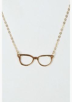 'Glasses' Necklace.