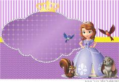 kit festa princesa sophia convite Barbie Birthday Invitations, Disney Princess Invitations, Princess Sofia Party, Princess Sofia The First, Sofia The First Birthday Party, Happy 4th Birthday, Cat Party, Party Kit, Princesa Sophia