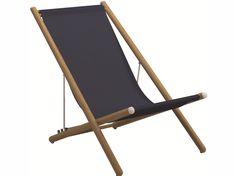 VOYAGER Deck chair by Gloster design Povl Eskildsen