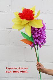 Tutorial papieren bloemen maken