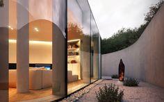 CGarchitect - Professional 3D Architectural Visualization User Community   Lake Lugano House Overcast