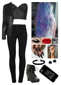 Edgy¿? by graciem1819 on Polyvore featuring polyvore, fashion, style, Topshop, Willow, J Brand, Hot Topic, Effy Jewelry, Miss Selfridge, Casetify and clothing
