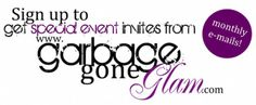 Sign up for free pinterest board blasts and see when and where our ECO-FASHION events are being held!   www.garbagegoneglam.com