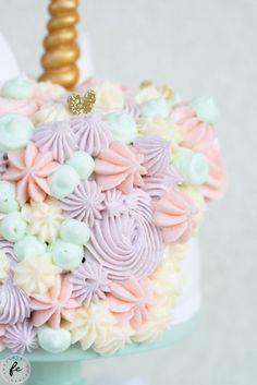 Einhorn Torte / Unicorn Cake | fraeuleincupcake.at