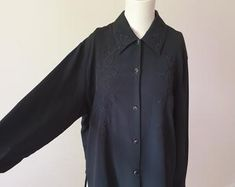 Check out our embroidered blouse selection for the very best in unique or custom, handmade pieces from our blouses shops. Embroidered Blouse, Shirt Dress, Mens Tops, Shirts, Etsy, Shopping, Dresses, Women, Fashion