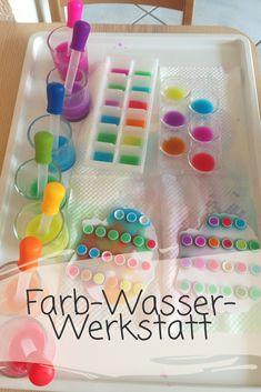 Farb-Wasser-Werkstatt diy for teens Crafts For Teens To Make, Fall Crafts For Kids, Diy For Teens, Diy For Kids, Kids Crafts, Diy And Crafts, Arts And Crafts, Creative Crafts, Yarn Crafts