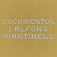 DOCUMENTOS   Alfons Martinell