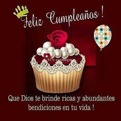 Facebook Birthday Wishes, Spanish Birthday Wishes, Happy Birthday Ecard, Birthday Messages, Bday Cards, Birthday Greeting Cards, Birthday Greetings, Happy B Day Images, Happy Day