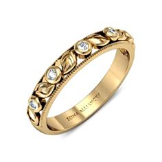Alliance or jaune & diamants  Orlandia <3 <3 <3