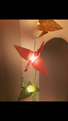 Guirlande Lumineuse Origami grue