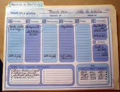 DIY:  Home Management Filing System Tutorial -  the easiest way to stay on top of your paper mess & never miss another bill payment or appointment!