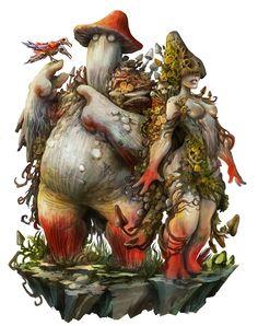Shattered RPG - The Florvanas, Alexandre Chaudret on ArtStation at https://www.artstation.com/artwork/3EmOB