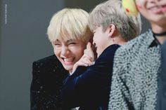 these two cuties never fails to make me smile #vmin