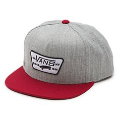 Full Patch Snapback Hat Vans Off The Wall a719f26daf5