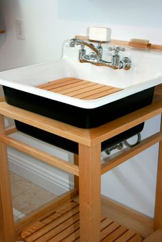 Utility Sink Stand Home Laundry Room Utility Sink