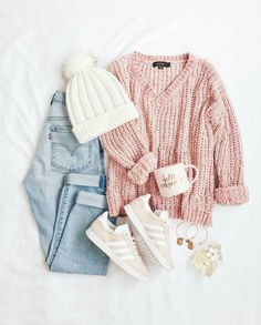 School outfit ideas for the daily look - just trendy girls . - nature - fashion - travel passion - handicraft - School outfit ideas for the daily look – Just Trendy Girls – - Teen Fashion Outfits, Girly Outfits, Cute Casual Outfits, Stylish Outfits, Fall Outfits, Style Fashion, Simple Outfits, Womens Fashion, Cool Outfits For Girls