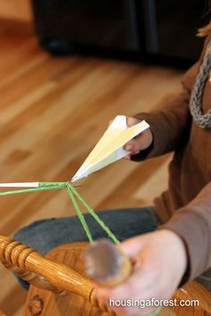 Elastic Band Launcher - super fun for kids and a great boredom buster, too!