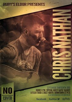 Poster for Chris Nathan Event