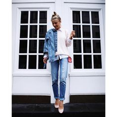 Double denim  by debiflue