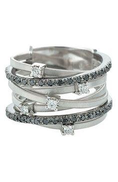 Marco Bicego 'Goa' Black Diamond Ring