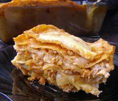 """W Mojej Kuchni Lubię.. : smaczna lasagne """"po mojemu""""..."""