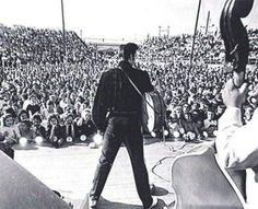 Tupelo september 26th 1956 afternoon show Dark blue velvet shirt