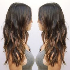 Asian+Balayage+hairstyle+for+long+hair