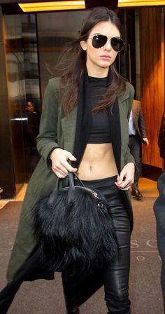 Kendall Jenner off duty street style