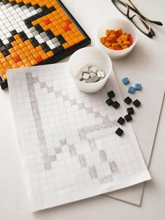 Cute mosaic idea! I'm going to try this one.