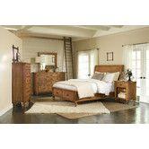 Found it at Wayfair - Summerhill Storage Sleigh Customizable Bedroom Set