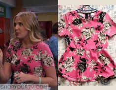 K.C. Undercover: Season 1 Episode 8 Marisa's Pink Floral Peplum