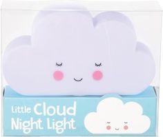 Dětské noční světlo - bílý mráček