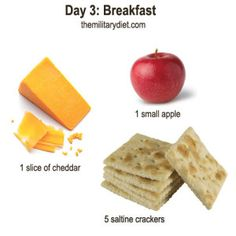 Day 3: Breakfast, Military Diet Plan