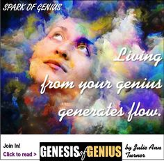 🌊 FORCE - OR FLOW? Do you feel like you're living from flow - or force? http://consciousshift.me/passionate-work-living-in-flow/  Here's why I'm asking ...  🌊 Living from your genius generates energy.  Discover what your genius is: www.MyGeniusWorkshop.com