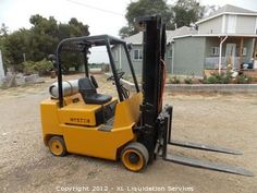 Hyster S60XL 6000 LB Propane Forklift