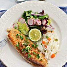 Filete de pescado al mojo de ajo - Filetes de pescado en ajo.#mexican #food #recipe #kitchen #fish #mexicoinmykitchen