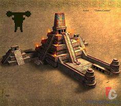 concept art aztec - Google Search