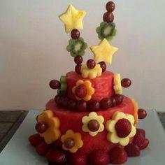 Pastel d fruta!!