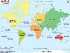 Printable map of the world for free download also buy high world continents map gumiabroncs Images