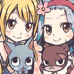 Lucy, Levy, Happy, & Lily