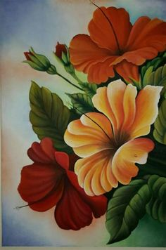Arte Floral, Watercolor Flowers, Watercolor Paintings, Flower Sketches, Beautiful Flowers Wallpapers, Butterfly Wallpaper, Pictures To Paint, Fabric Painting, Flower Art