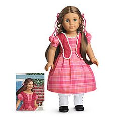 American Girl: Marie Grace i know I'm a little old for dolls but her name is my name backwards (but the Marie part is spelled differently) :)