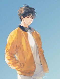 drawings of love Jungkook Fanart, Kpop Fanart, Bts Chibi, Bts Anime, Anime Guys, Fanarts Anime, Anime Characters, Fan Art, Character Art