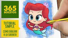 princesa ariel kawaii - Buscar con Google                                                                                                                                                                                 Más
