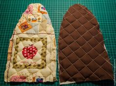 Cover for Iron Tutorial Sac Granny Square, Iron Holder, Small Sewing Projects, Sewing Lessons, Sewing Rooms, Sewing Patterns, Projects To Try, Crafty, Quilts