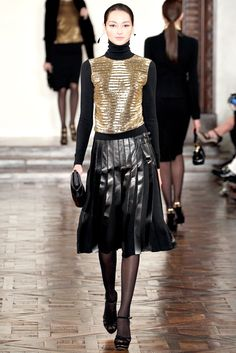 Ralph Lauren Fall 2012 Ready-to-Wear Fashion Show - Bruna Tenorio