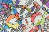 Grade 5 Kandinsky Drawings