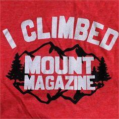 I Climbed Mount Magazine