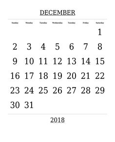 december 2018 monthly calendar december 2018 monthly calendar word free template december 2018 monthly calendar in pdf excel with holidays notes
