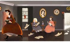 Louisa May Alcott Google Doodle Makes Us Want To Read 'Little Women' Again